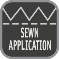 sewn-application