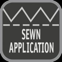 sewn-application
